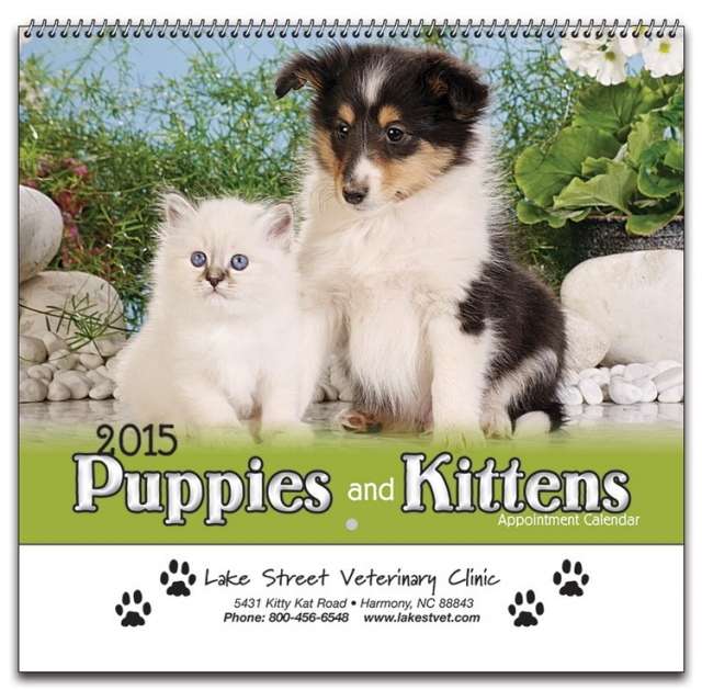 Puppy and Kitten Calendars